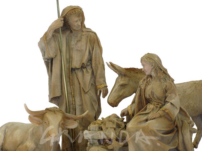 Misterio, Niño, Virgen y san José.