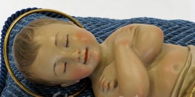 Niño Jesús. Talla en madera. Talleres de Arte GRANDA.